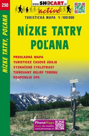Alacsony-Tátra, Polyána turistatérkép (230) - ShoCart
