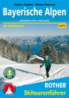 Bavarian Alps, ski touring guide in German - Rother