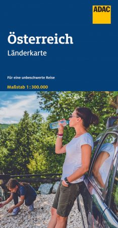 Ausztria autótérkép - ADAC