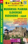 Murányi-fennsík, Gömör-Szepesi-érchegység (nyugat) turistatérkép (232) - ShoCart