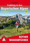 Bavarian Alps, trekking guide in German - Rother