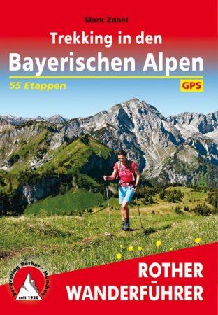 Bajor-Alpok: több napos túrák, német nyelvű túrakalauz - Rother