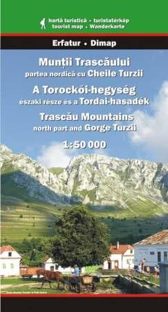 Torockói-hegység (észak) és Tordai-hasadék turistatérkép - Dimap & Erfatur