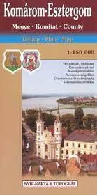 Komárom-Esztergom megye térkép - Topográf