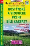 Hostýnské és Vizovické-hegység, Fehér-Kárpátok turistatérkép (222) - ShoCart