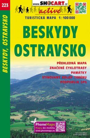 Beskydy, Ostrava környéke turistatérkép (223) - ShoCart