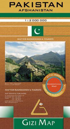 Pakistan, travel map - Gizimap