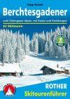 Berchtesgadeni-Alpok, német nyelvű sítúrakalauz - Rother