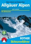 Allgäu Alps, ski touring guide in German - Rother