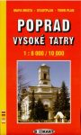 Poprad, town plan - BBOKart