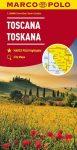 Toscana térkép (1: 200 000) - Marco Polo
