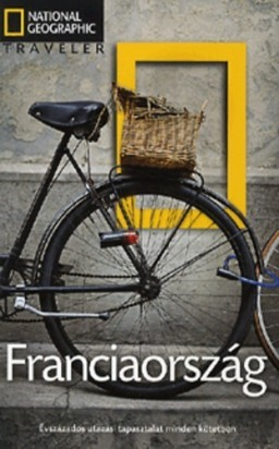 France, guidebook in Hungarian - National Geographic