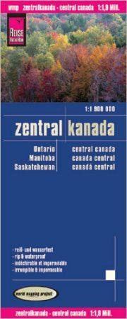 Kanada (középső rész) térkép - Reise Know-How