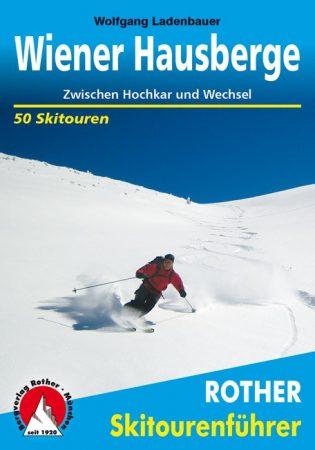 Bécsi-Alpok, német nyelvű sítúrakalauz - Rother