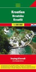 Horvátország autótérkép - Freytag-Berndt