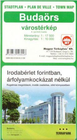 Budaörs, town plan - Térképház