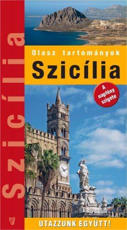 Sicily, guidebook in Hungarian - Hibernia