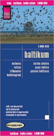 Balti államok térképe - Reise Know-How