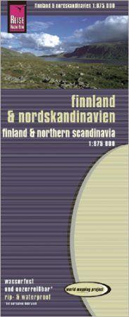 Finnország és Észak-Skandinávia térkép - Reise Know-How