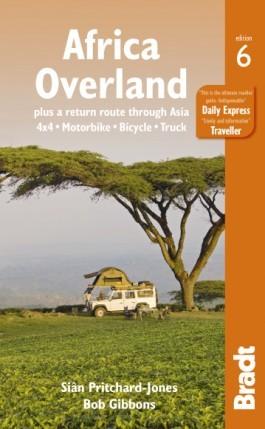 Afrika szárazföldön, angol nyelvű útikönyv - Bradt