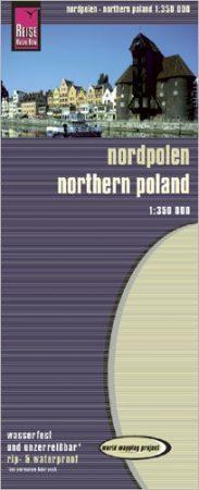 Észak-Lengyelország térkép - Reise Know-How