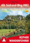 Alb Südrand-Weg, német nyelvű túrakalauz - Rother