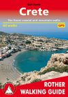 Crete, hiking guide in English - Rother