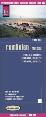 Románia, Moldova térkép - Reise Know-How