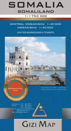 Szomália, Szomáliföld térkép - Gizimap