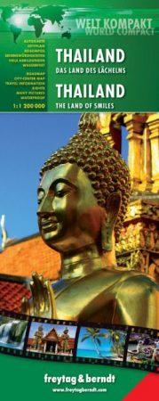 Thailand, travel map - Freytag-Berndt World Compact