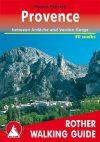 Provence, angol nyelvű túrakalauz - Rother