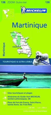Martinique térkép - Michelin