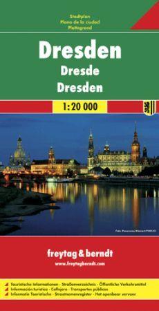 Drezda várostérkép - Freytag-Berndt
