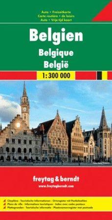 Belgium autótérkép - Freytag-Berndt