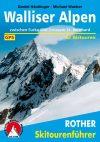 Wallisi-Alpok, német nyelvű sítúrakalauz - Rother