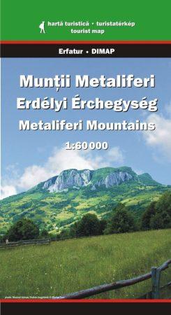 Erdélyi Érchegység turistatérkép - Erfatur & Dimap