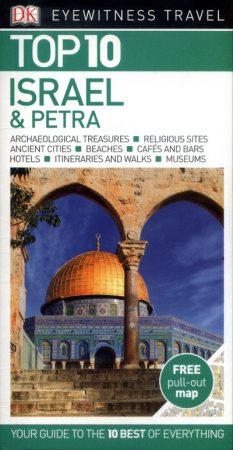 Israel & Petra, guidebook in English - Eyewitness Top 10