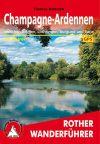 Champagne & Ardennek, német nyelvű túrakalauz - Rother