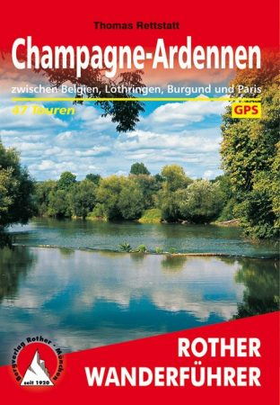 Champagne & Ardennes, hiking guide in German - Rother