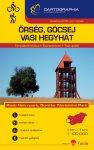 Őrség, Göcsej, Vasi-hegyhát térkép - Cartographia