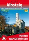 Albsteig, német nyelvű túrakalauz - Rother