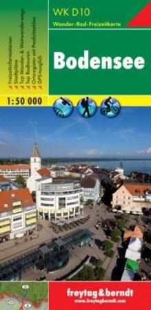 Bodensee turistatérkép (WKD 10) - Freytag-Berndt