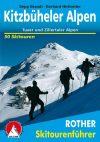 Kitzbüheli-Alpok, német nyelvű sítúrakalauz - Rother