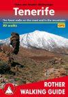 Tenerife, angol nyelvű túrakalauz - Rother