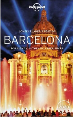 Best of Barcelona, guidebook in English - Lonely Planet