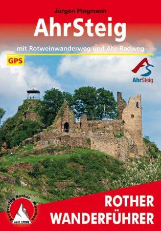 AhrSteig, német nyelvű túrakalauz - Rother