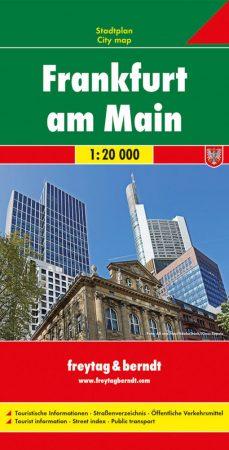 Frankfurt am Main várostérkép - Freytag-Berndt