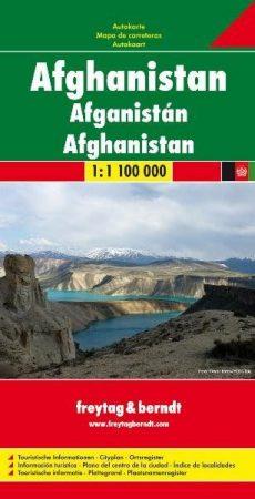 Afganisztán autótérkép - Freytag-Berndt