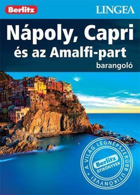 Naples, Capri & the Amalfi coast, guidebook in Hungarian - Lingea Barangoló