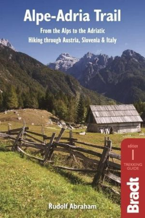 Alpe-Adria Trail, guidebook in English - Bradt